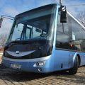 Elektrobus SOR ENB 8 na zkušené v Praze