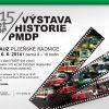 Výstava 115 let městské veřejné dopravy v Plzni