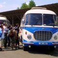 Sraz historických autobusů v Lešanech 24.5. 2014