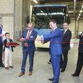 Van Hool  otevřel v Makedonii moderní závod na výrobu autobusů