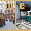 V Brně jezdí pravidelně historická tramvaj a trolejbus