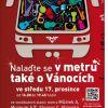 Nalaďte se v metru také o Vánocích – v pražském metru opět zazní koledy