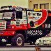 Závodní speciál TATRA Rallye Dakar byl naloděn