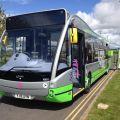 Elektrobusy Optare zlepšují systém Park & Ride v Yorku