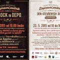 Rocková party v depu a Den otevřených dveří v českobudějovickém dopravním podniku