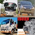 FOR ISUZU CZECH GROUP  –  BUS, TRUCKS, D – MAX, INDUSTRIAL ENGINES