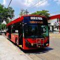 Trolejbusy v Mexiku mají elektrickou výzbroj Škoda Electric!