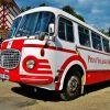 """Škoda 706 RTO – RTO Klub """"ADVENTNÍ KALENDÁŘ RTO"""" Bus č. 11"""