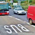 Nové preferenční pruhy v Praze, autobusy MHD a tramvaje pojedou rychleji