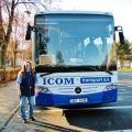 Modrá vlna ICOM transport – Za volantem žena