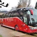 Cestujeme luxusním autokarem Setra 517 HD ComfortClass do Ženevy