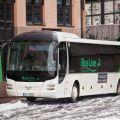 V autobusech Busline již platíme bezkontaktní kartou