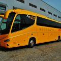 Žlutá flotila autobusů STUDENT AGENCY  nově pod značkou  RegioJet