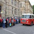 Historické autobusy a tramvaje měly při muzejní noci v Liberci maximální úspěch!