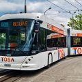 Rychlonabíjení TOSA u elektrobusů v Ženevě