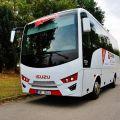 Turistický autobus ISUZU NOVO nejefektivnější varianta dopravy v Česku