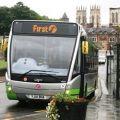 Elektrobusy v Yorku najely milión kilometrů za 21 měsíců