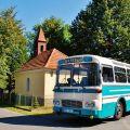 Autobusy Škoda 706 RTO a ŠD, ŠL 11 z kalendáře ke stažení – dnes autobus č. 4
