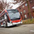 Severní Brabantsko má největší park kloubových elektrobusů