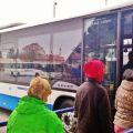 Řidič autobusu ICOM transport zachránil cestující před nebezpečnou kyselinou