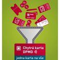 V Děčíně platí za jízdné novou chytrou bezkontaktní kartou DPMD!