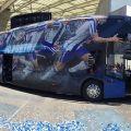 NEOPLAN Skyliner: FC Porto si užívá pohodlí ve dvou patrech