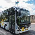 Elektrobusy Volvo s průběžným dobíjením standardem OppCharge v Trondheimu