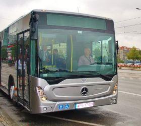 Nové městské autobusy Mercedes-Benz Conecto  budou jezdit v Kolíně