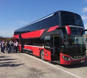 Setra S 531 DT: reportáž Michala Štengla z Euro testu dálkových autokarů