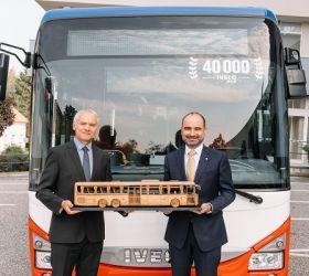 IVECO BUS dosahuje nového rekordu ve výrobě a dodává v pořadí již 40 000. Crossway