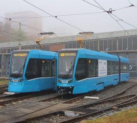 Ostrava má již kompletní flotilu tramvají Stadler