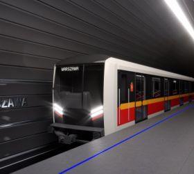 Nové soupravy metra Škoda budou jezdit ve Varšavě