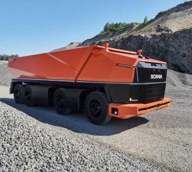 Autonomní náklaďák Scania bez kabiny – díl 1.