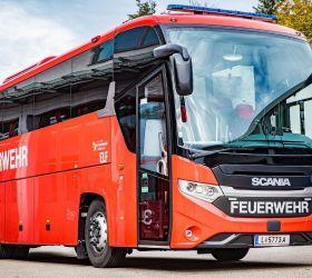 Autobus Scania pro rakouské hasiče