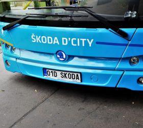 Škoda Transportation představila svůj nový autobus Škoda D'CITY 9 LE