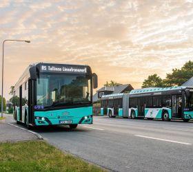 Dalších až 150 městských autobusů na zemní plyn (CNG) dodá Solaris do Tallinu