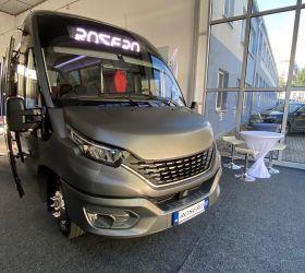 Slovenský výrobce autobusů Rošero představil svůj první vodíkový autobus