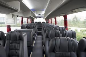 Scania Touring HD - interior