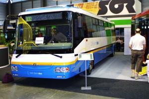 Městský nízkopodlažní elektrobus SOR EBN 10,5