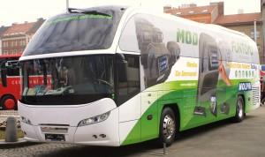 Neoplan Cityliner v barvách společnosti Molpir