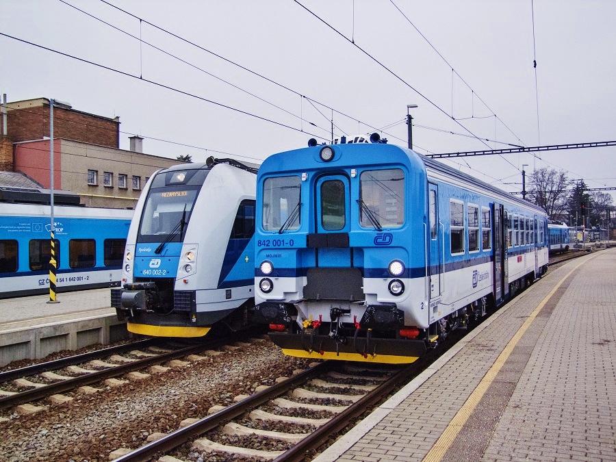 Prototyp 842 001 po modernizaci PARS NOVA