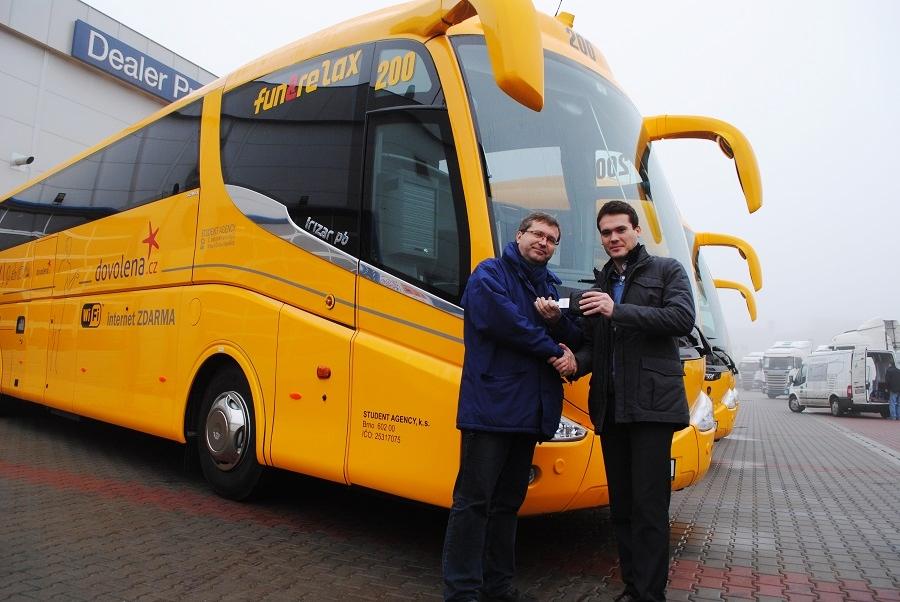 Scania IRIZAR PB _ Student _Agency 5