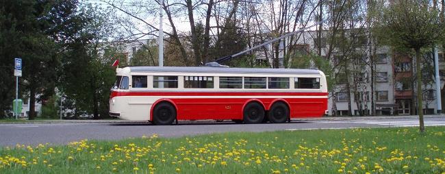 DP Hradec trolejbus Tatra  OK