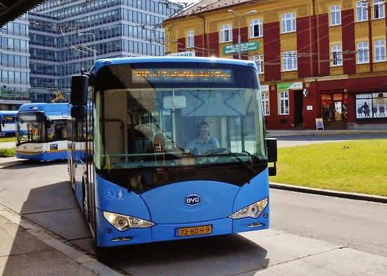 Ostrava Elektrobus BYD 2 x