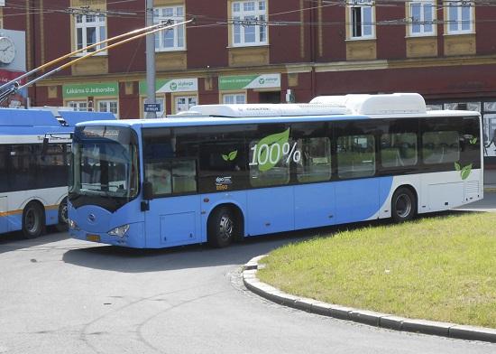 Ostrava Elektrobus BYD x