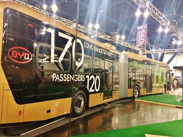 Elektrobus BYD 18m