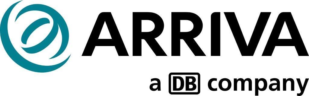 Arriva corporate logo - Frutiger Bold JPG