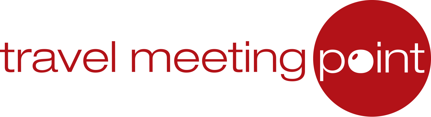 Logo travel meeting point