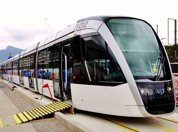 tramvaje Alstom Citadis 1x