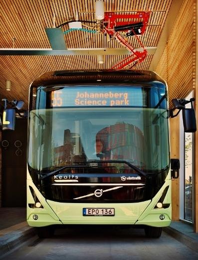 Elektrobusy v Göteborgu 1OK